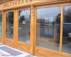 shop front, carving molding