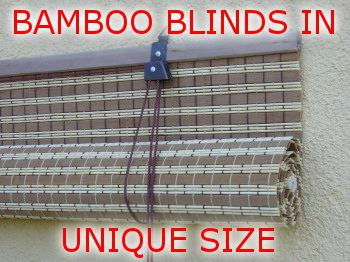 custom bamboo blind