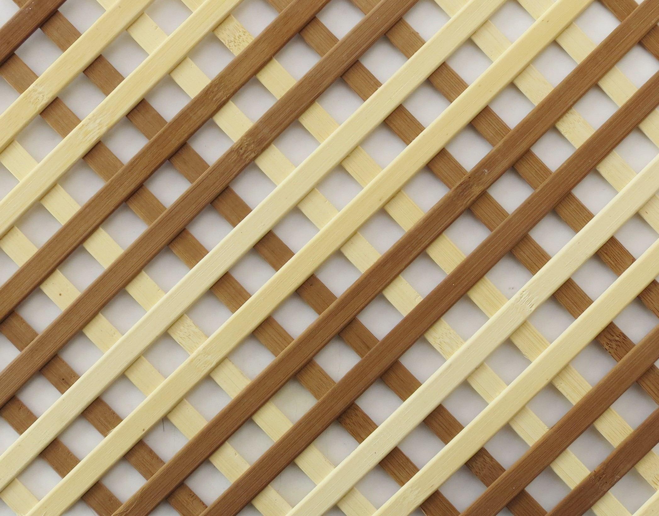 Wooden lattice grille panel for Wood lattice trellis